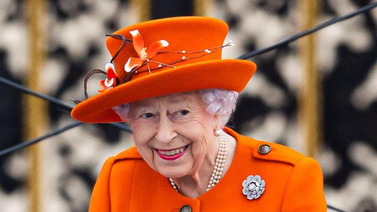 Queen at Queen Baton Relay 2021