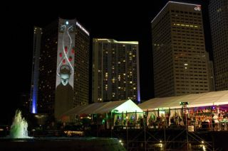 Red Bull Uses Barco Projectors for Ultra Music Festival 2012