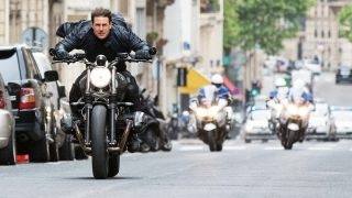 Tom Cruise in Mission: Impossible 7.