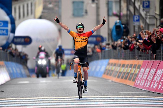 La vittoria di Tratnik a San Daniele del Friuli (foto Getty Images)