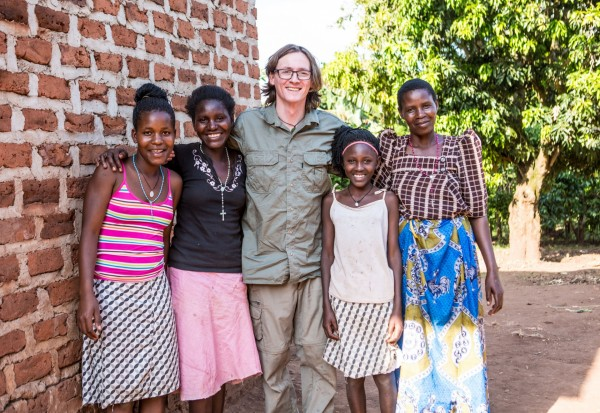 Ed Byrne Visits One World Foundation