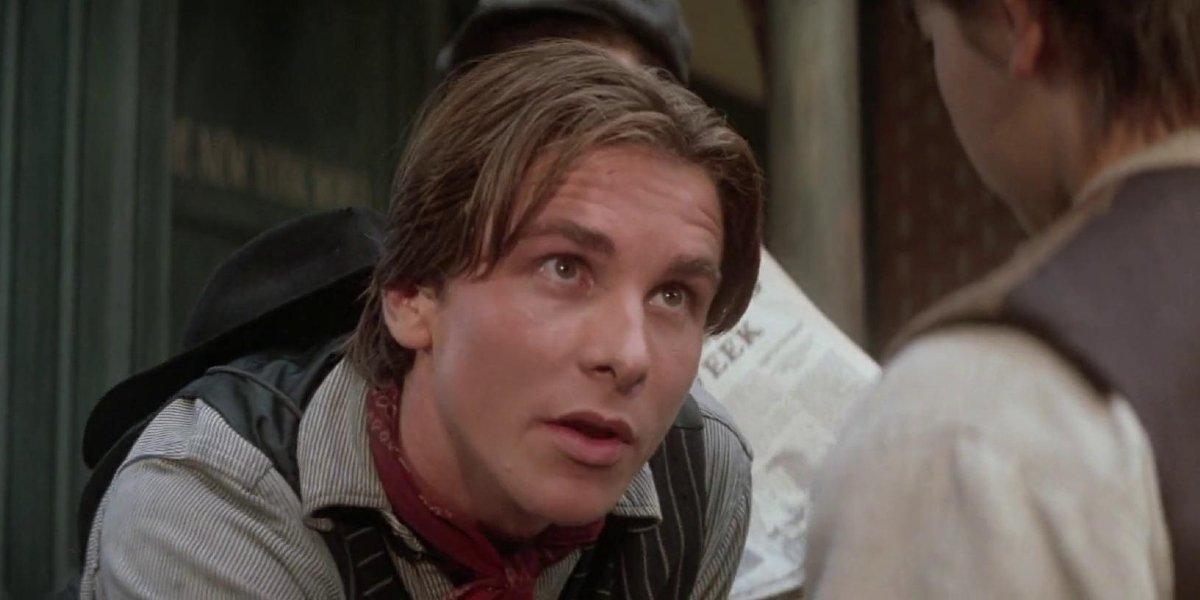 Christian Bale in Newsies
