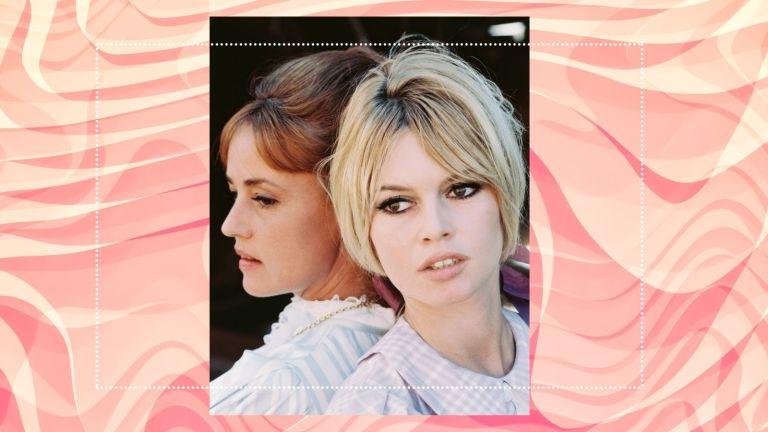 60s makeup brigitte bardot on set in the 1960s