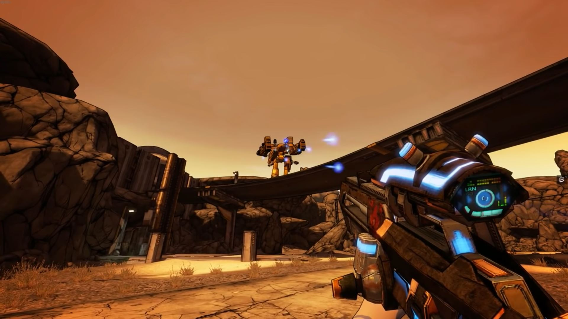 This upcoming mod turns Borderlands 2 into Superhot, and it looks
