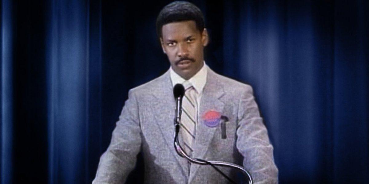 Denzel Washington in Hard Lessons