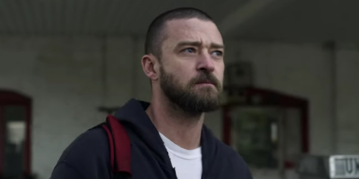 Justin Timberlake as Palmer in the titular film on Apple TV+.