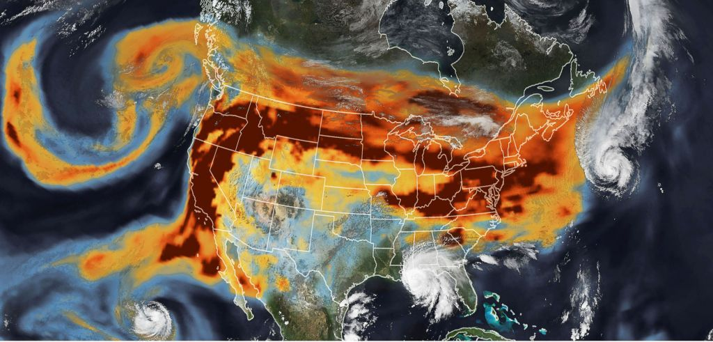 Climate fires and hurricanes collide in this shocking...