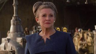 Carrie Fisher is still playing Princess Leia in Episode 9 ...