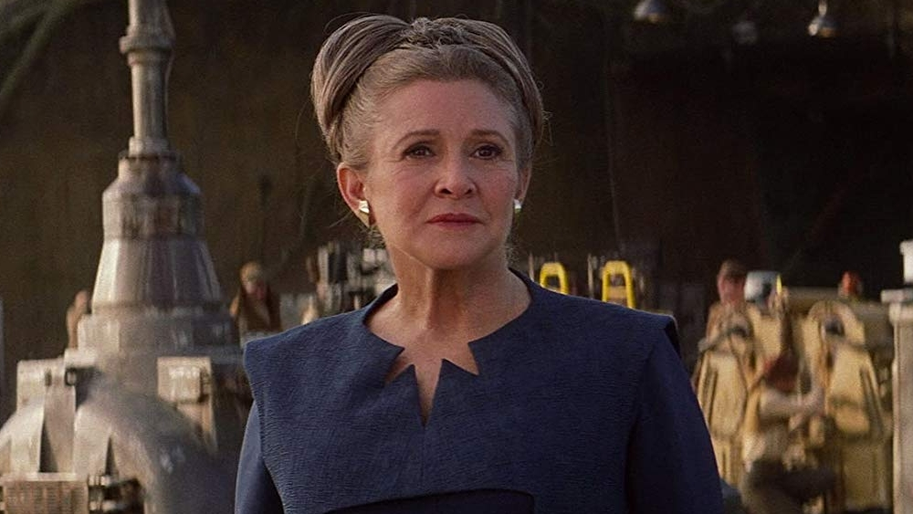 Carrie Fisher Is Still Playing Princess Leia In Episode 9 Thanks To J J Abrams And Co Writing Around Unused Force Awakens Footage Gamesradar