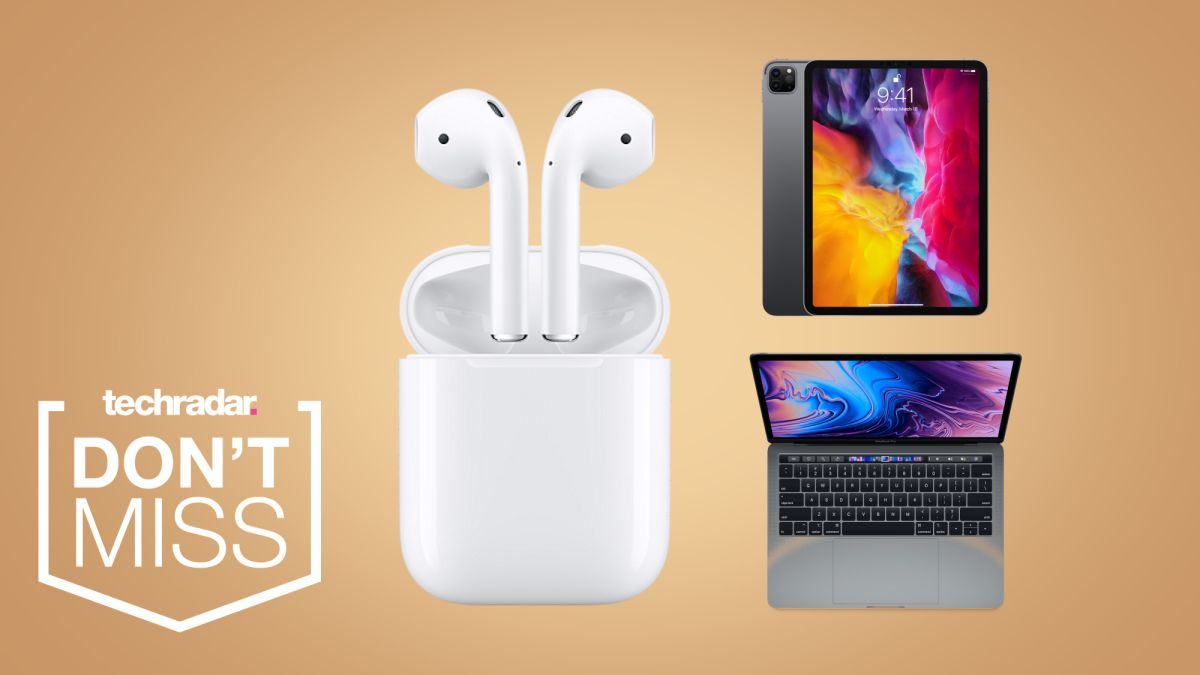 The latest iPad deals and MacBooks from Apple feature a free pair of AirPods