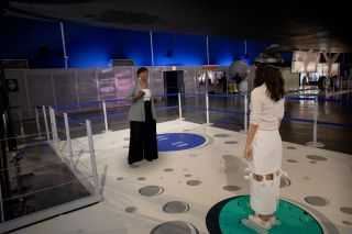 Hologram of NASA Astronaut Mae Jemison Arrives at NYC's Intrepid