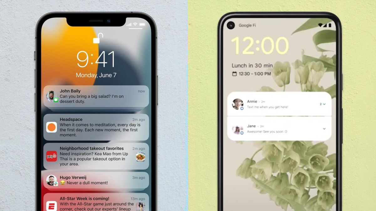 iOS 15 vs. Android 12 preview: Which OS looks more impressive?