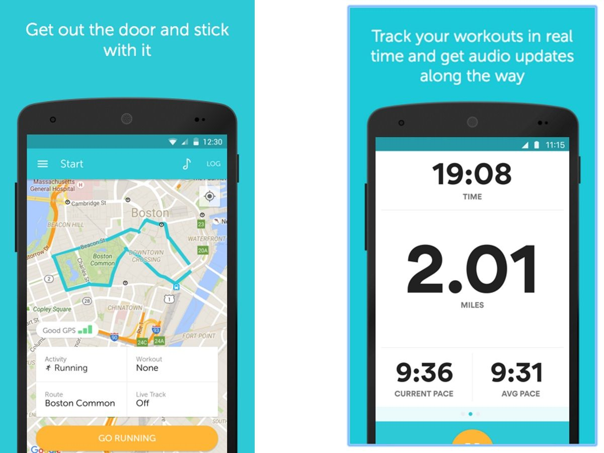 Best Running Apps 2019 - Track Distance, Speed and Fitness Goals