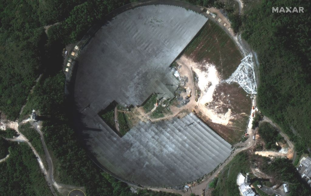 Arecibo Observatory has more science to do despite iconic radio telescope's collapse