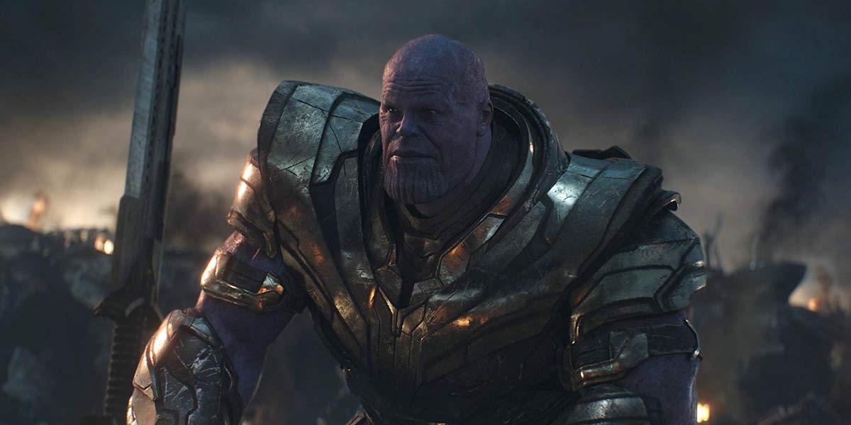 Josh Brolin as Thanos in Avengers: Endgame final battle