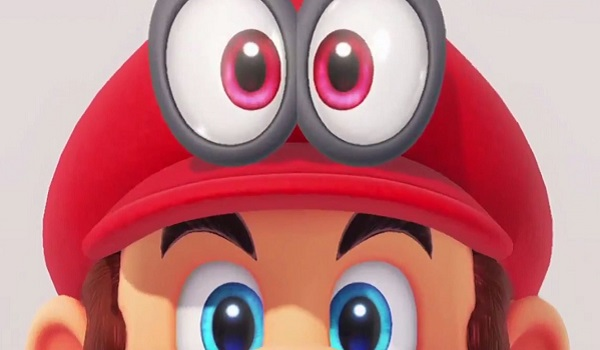 Mario and his fancy new hat.