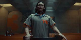 Tom Hiddleston as Loki in Loki.