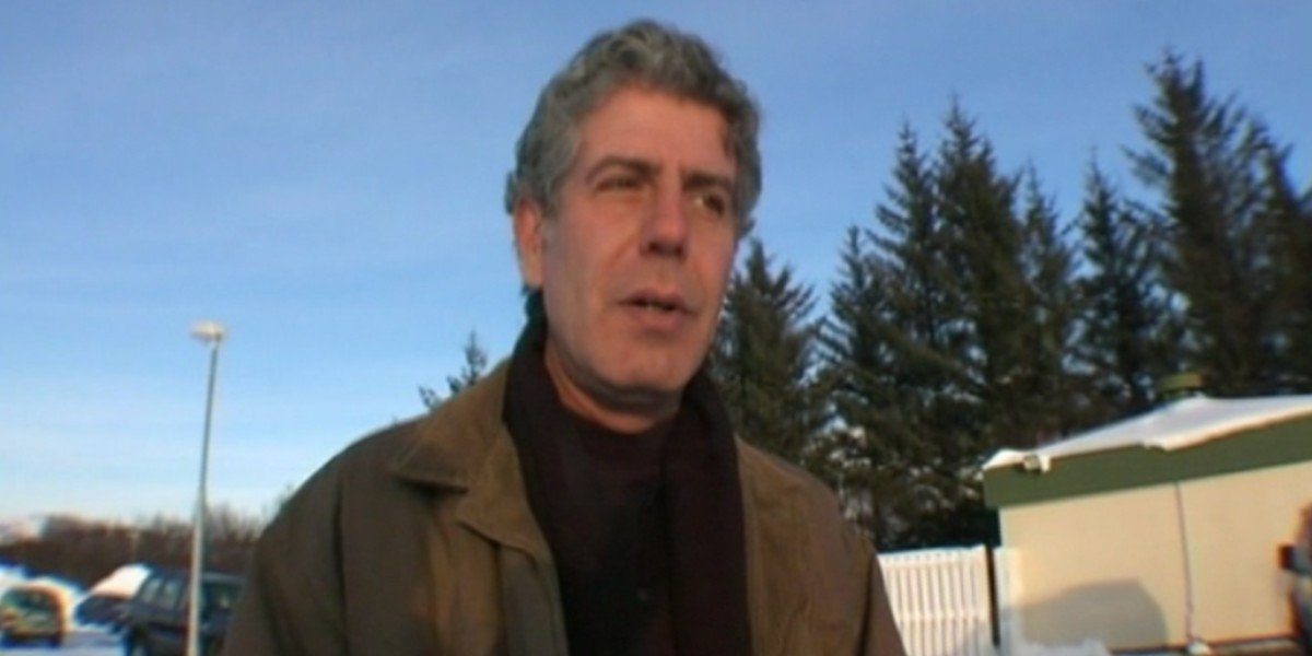 Anthony Bourdain in No Reservations
