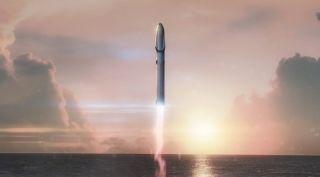BFR rocket art