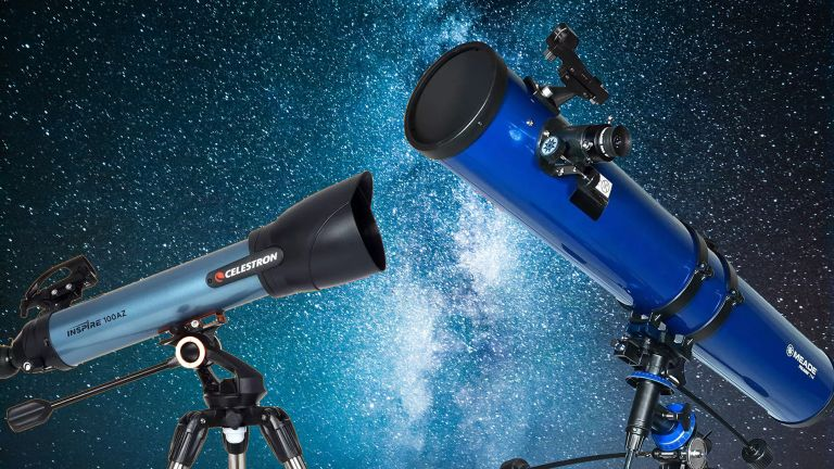 Celestron Inspire 100AZ and Meade Polaris 114mm
