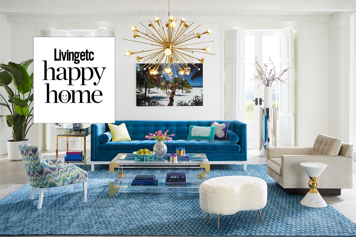 How to make your living room a happy place to be by Jonathan Adler