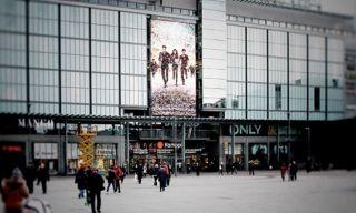 Matrox Mura Powers Video Wall in Helsinki Mall