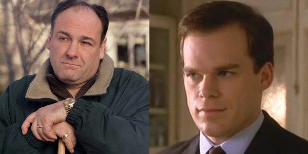 Tony Soprano David Fisher James Gandolfini Michael C. Hall The Sopranos Six Feet Under HBO