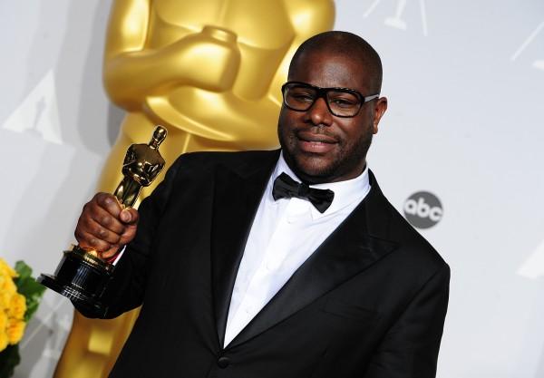 Steve McQueen at the Oscars 2014