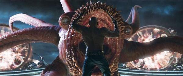 Drax vs Abilisk Guardians of the Galaxy vol. 2