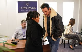 EastEnders Kat Moon and Martin Fowler
