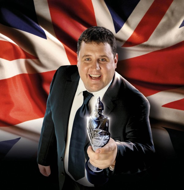 Peter Kay hosted the Brit Awards in 2010