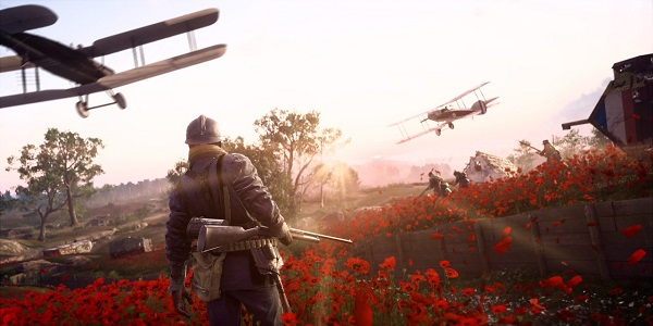 quiet moment before war Battlefield 1