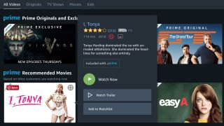 A screenshot of the amazon prime instant video dashboard