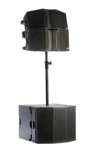 EAW Presents JFL210 Compact Constant Curvature Line Array and Compatible JFL118 Subwoofer