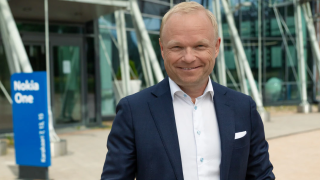 Nokia CEO Pekka Lundmark.