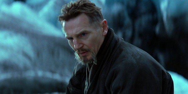 Liam Neeson as Ra's Al Ghul in Batman Begins