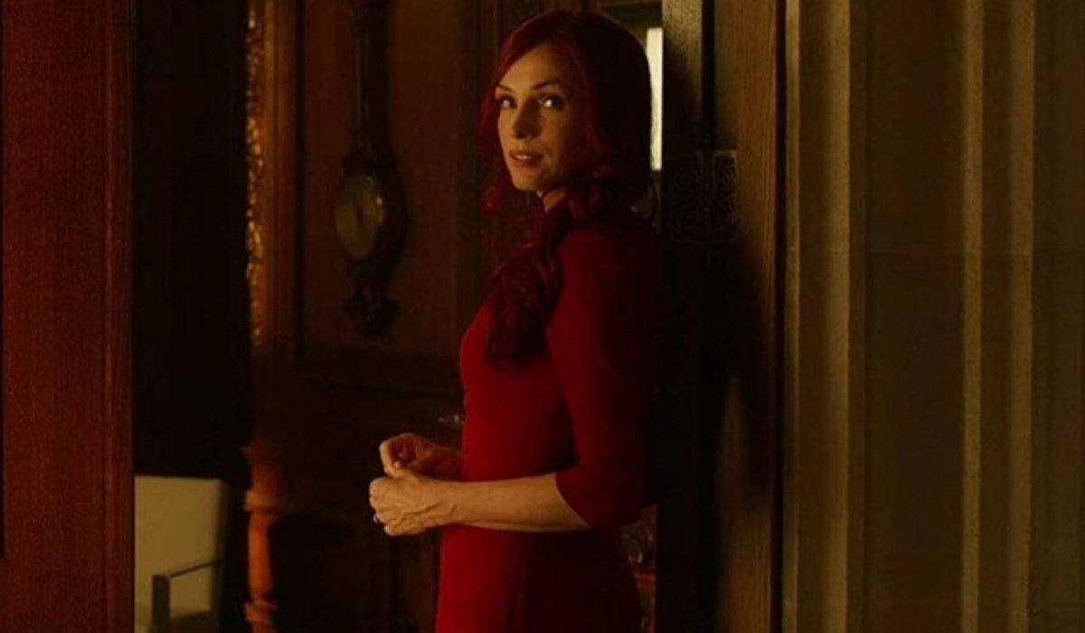 X-Men: Days of Future Past Jean Grey standing in a doorway