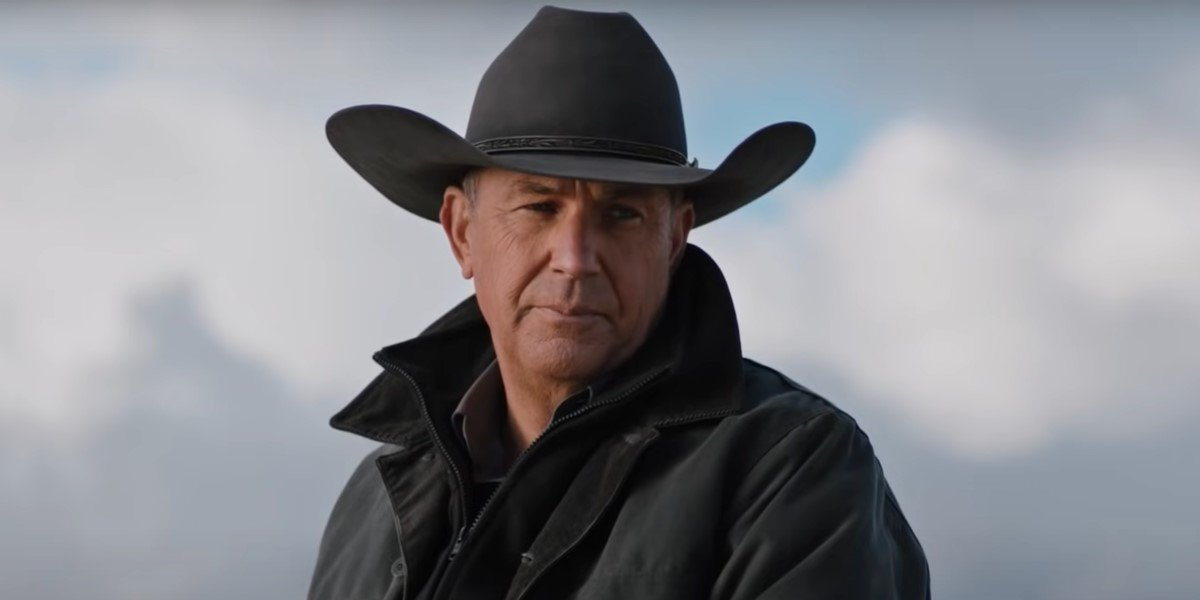 kevin costner's john dutton on yellowstone season 3