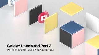 Samsung Galaxy Unpacked 2021 promotional art