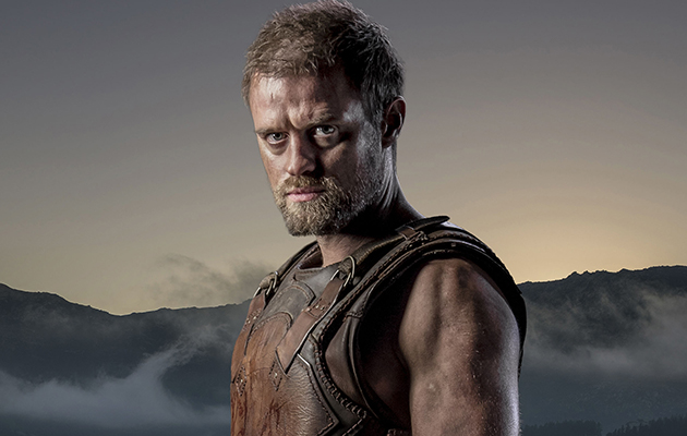 Troy star Jonas Armstrong on getting super fit to play a king: 'By the end I just wanted to smash up the gym!'