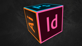 A cube with different AdobeCC logos on each face