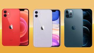 Bästa iPhone-modellen 2021