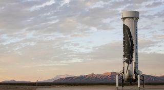 New Shepard's propulsion module