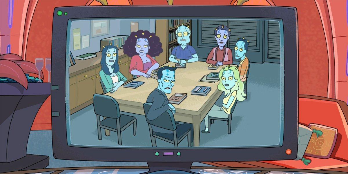 Rick and Morty Rick creates Community with Unity
