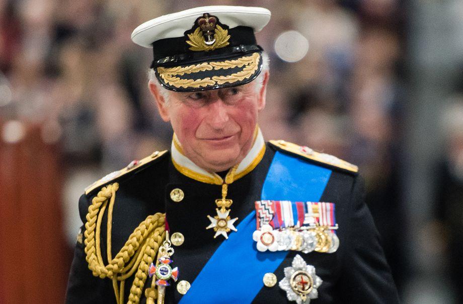 prince charles walks behind duchess camilla royal protocol