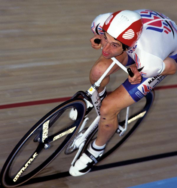 Graeme Obree on Old Faithful