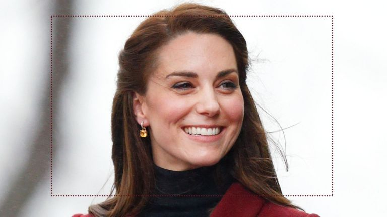 easy hairstyles kate middleton half-updo