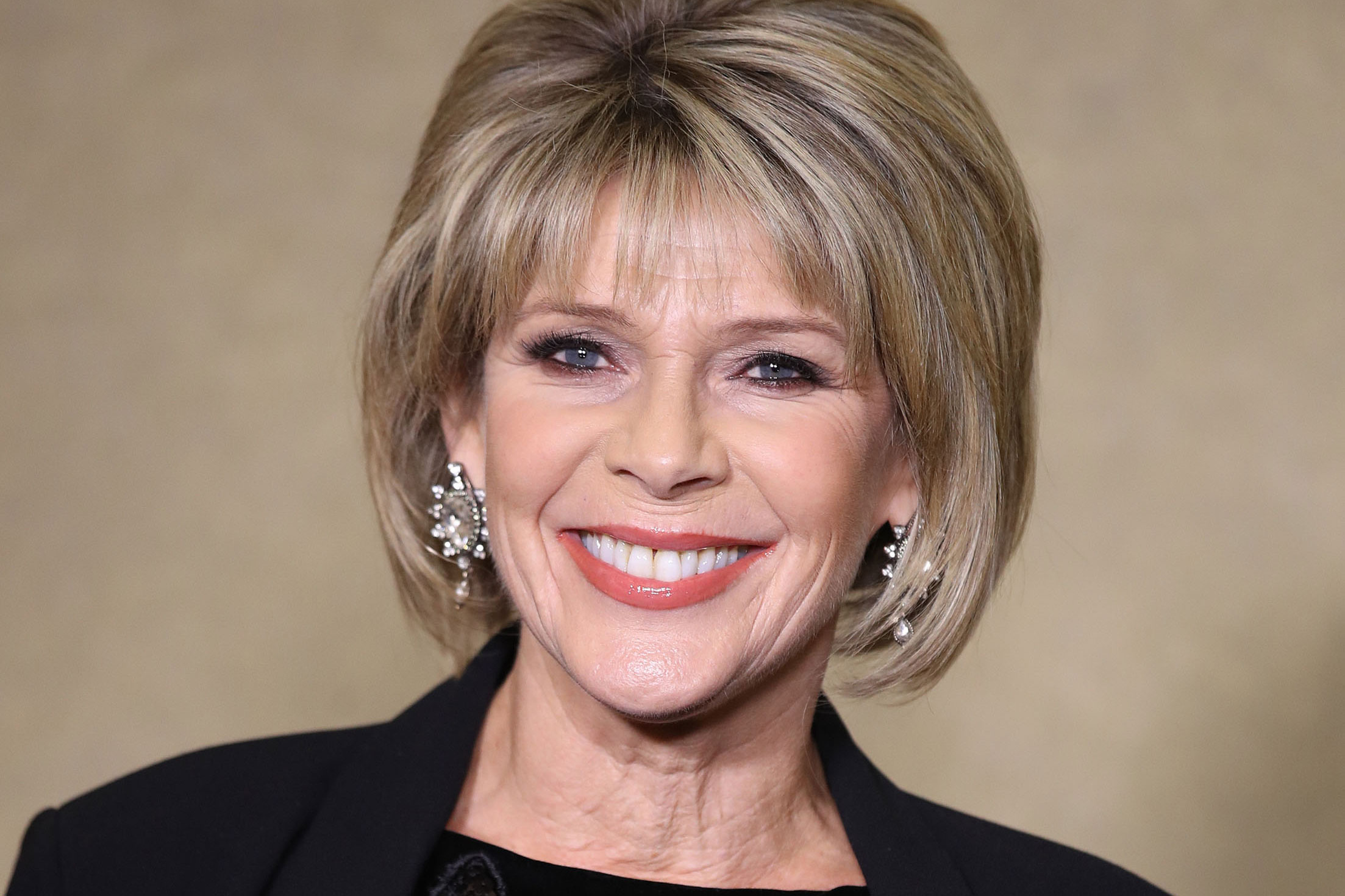 Ruth Langsford reveals the £3 product she uses to keep her blonde hair flawless in lockdown