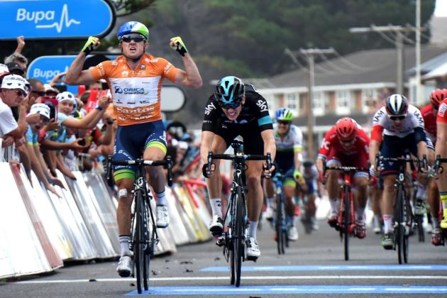 Simon Gerrans wins stage 4 of the 2016 Tour Down Under