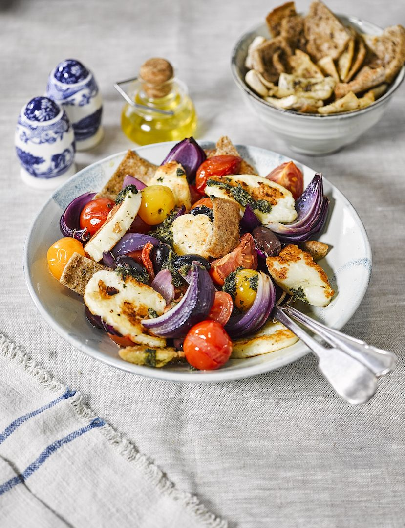 Give this divine Easter mediterranean salad a go packed with colourful charm